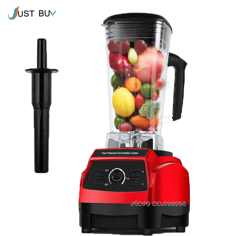 3HP 2200W BPA FREE 2L heavy duty commercial professional smoothie blender mixer juicer food processor 220V EU/UK//AU Plug 900w fruit mixer machine vegetable superfood blender processor juicer extractor free shipping