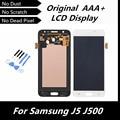 100% de alta qualidade original lcd para samsung galaxy j5 j500 display lcd digitador toque substituição assembleia tela lcd