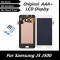 100% de la alta calidad blanco LCD Original para Samsung Galaxy J5 J500 LCD táctil digitalizador reemplazo montaje de la pantalla LCD