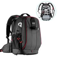 Neewer Pro Camera Case Waterproof Shockproof Adjustable Padded Camera Backpack Bag with Anti theft Combination Lock for DSLR DJI