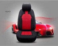Пользовательский 2 шт. передние сиденья из яловой кожи для Audi A5 A3 A4 A6 A7 A1 A8 Q3 Q5 Q7 100 R8 TT автомобильные аксессуары для укладки