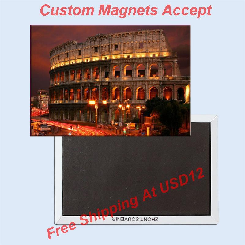 Souvenir Magnets ,Colosseum Souvenir Photo Fridge Magnet 5629 Travel Gift tourist attractions