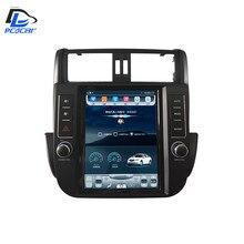 32 г Встроенная память вертикальный экран android автомобильный gps Мультимедиа Видео Радио в тире для Toyota Land cruiser prado автомобильный navigaton