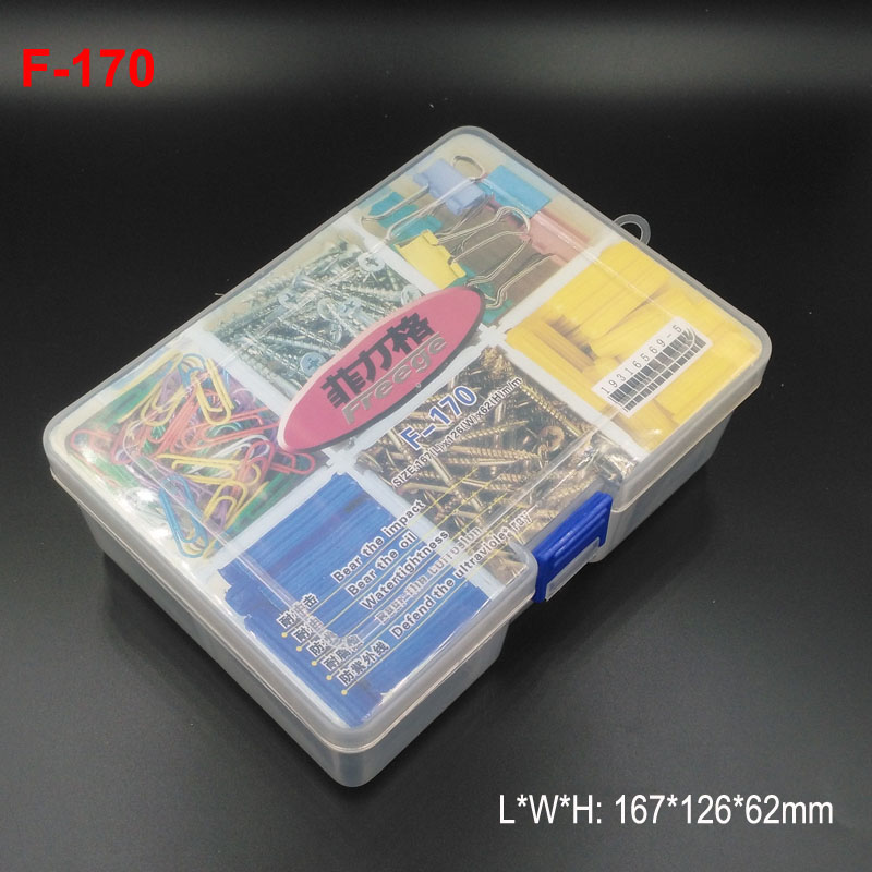 тайвань freege бренд коробка для хранения инструмента сделаны № 5 пластиковые для хранения винтов, контакты, клипы, СК, компонентов, инструменты, таблетки и т. д