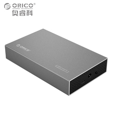 ORICO 3.5 inch Type-C HDD SSD Hard Disk External Case USB3.1 TO SATA3.0 Aluminum Hard Drive Enclosure 5GBPS for Windows Mac XP