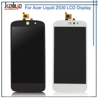 For Acer Liquid Z530 LCD Display + 5.0 inch Touch Screen Digitizer Assembly Replacement For Acer Liquid Z530 Mobile Phone LCDS