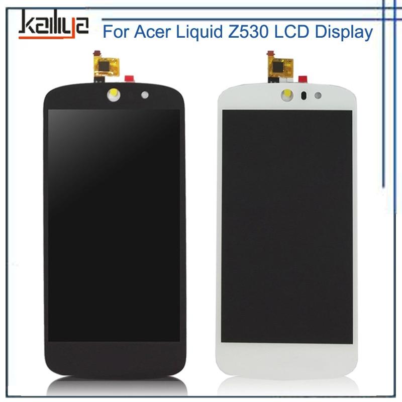 Para acer liquid z530 pantalla lcd de 5.0 pulgadas táctil pantalla digitalizador