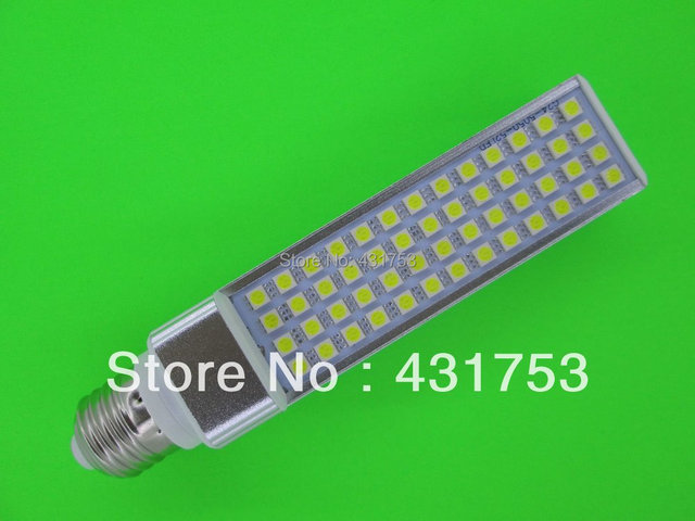 E27 G24 LED Bulb 11W 5050 SMD 52 LED  Corn Light Lamp Cool White/Warm White AC 85V-265V Side lighting( High Brightness )