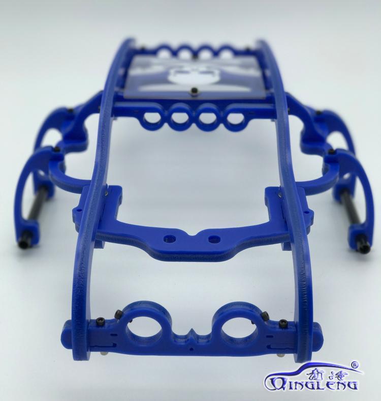 ทั้งหมดพลาสติกม้วนกรง/ปกป้อง roll cage (นำเข้าวัสดุ) qingleng roll cage สำหรับ HPI 1/8 SAVAGE XL FLUX-ใน ชิ้นส่วนและอุปกรณ์เสริม จาก ของเล่นและงานอดิเรก บน   2