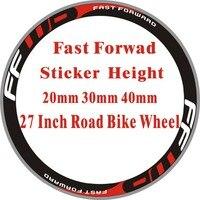 FF 2 колеса/комплект дорожный велосипед 700c наклейки на колеса гоночные колеса велосипеда декоративные наклейки на велосипед наклейки на кол...