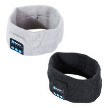 Cycling Caps with Bluetooth Headset Stereo Headphones Headphone Earphone Sleep Headset Sports Headband with Mic