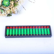 Red Green Children 15 Rods Beads Abacus Arithmetic Number Aid Counting Tool Maths Learning Intelligence Educational Toy Gift
