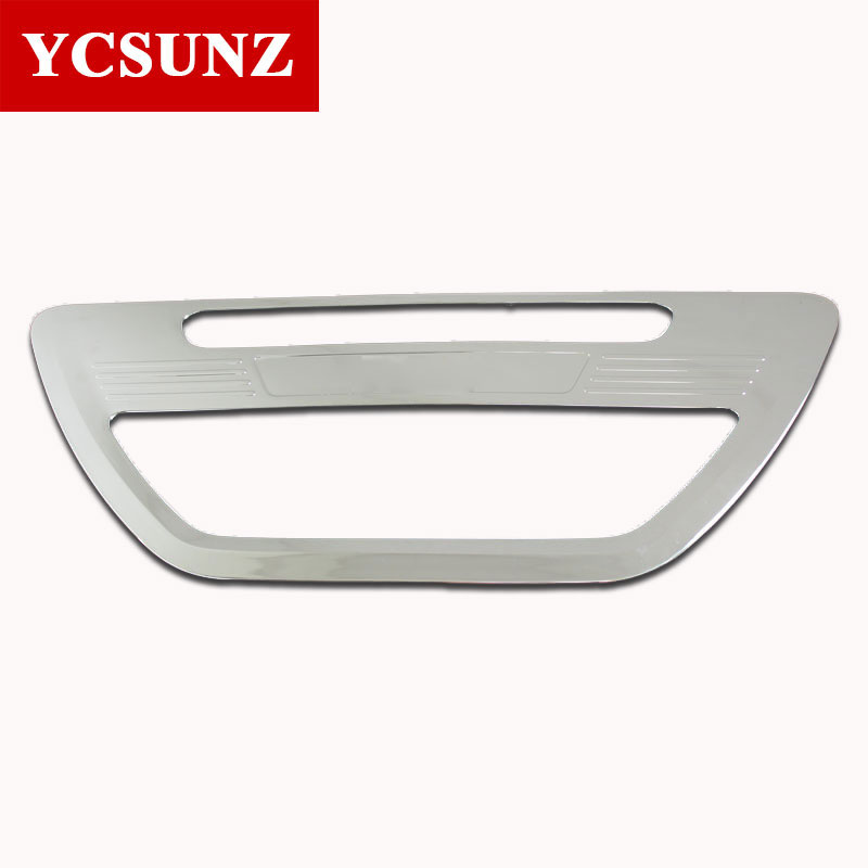 2016-2017 For Toyota Hilux Revo Accessories Chrome Surround Tail Gate Trim Cover For Toyota Hilux Decorative Parts Ycsunz