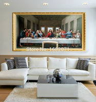 Professional Artist Handmade High Quality Classical Europe Jesus The Last Supper Oil Painting On Canvas Wall Artwork Decorative
