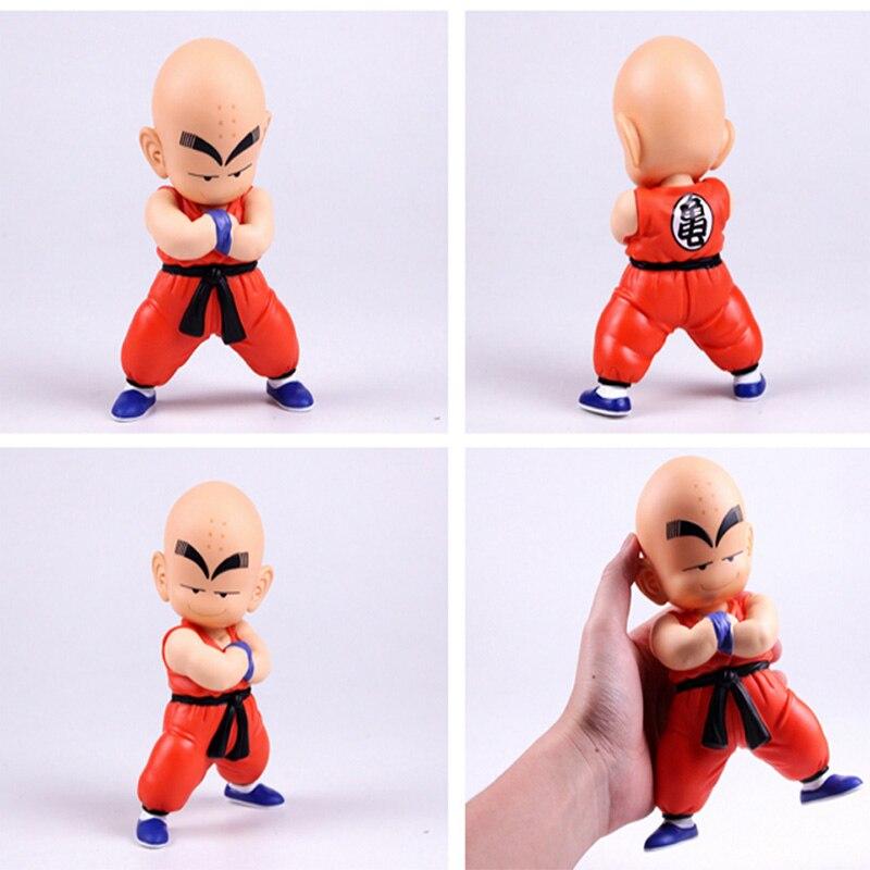 Tronzo 1 шт. 21 см Dragon Ball Z фигурка Сон Гоку Krillin фигурку Коллекционная модель на день рождения Подарок для мальчика Прямая доставка