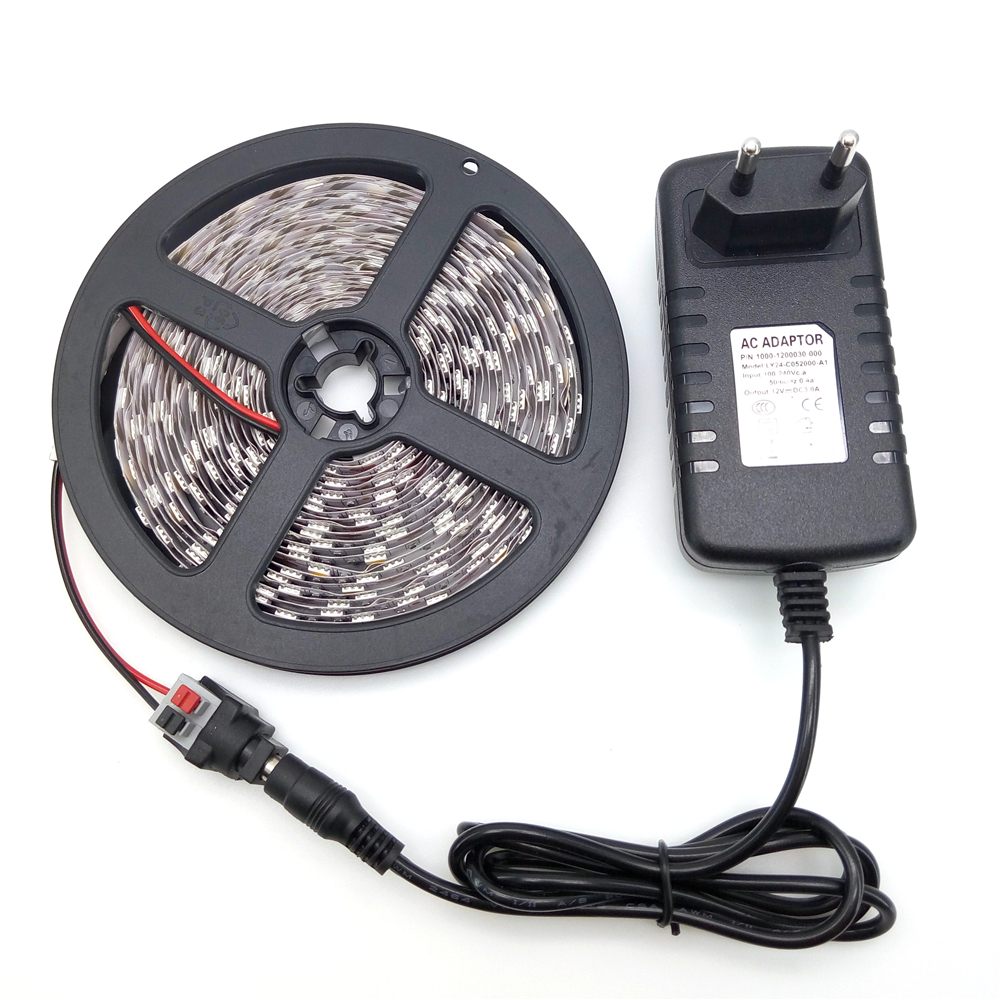 Жарықдиодты жолақ жарық 5050 5M 300LED су - LED Жарықтандыру - фото 2