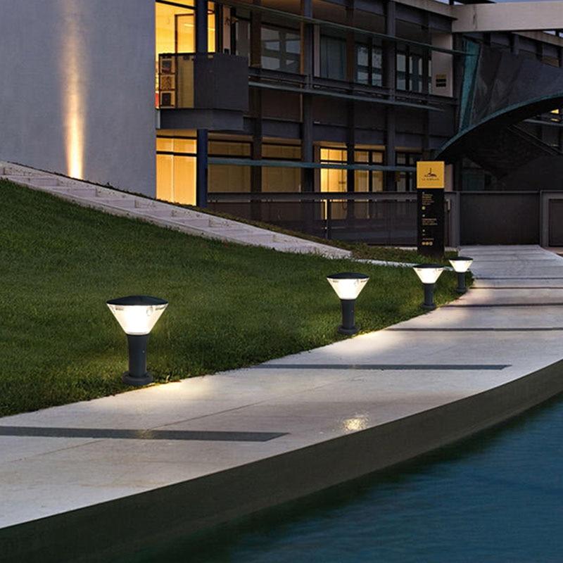 Regendicht stofdicht creatieve outdoor tuinverlichting balkon residentiële countyard villa decoracion jardin exterieur - 6