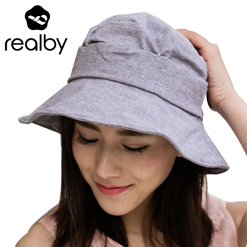 realby summer sun hats vintage bow summer hats for women