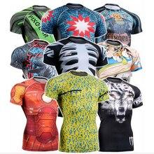 Новинка года sulimation карате Боевые искусства футболка с короткими рукавами удар ММА Шотокан футболки персонализировать сублимации Шотокан футболка Для мужчин