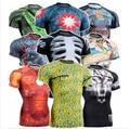 2016 Nueva Sulimation SHOTOKAN Karate Artes Marciales KICK MMA T-shirt de Manga Corta camisetas personalizar sublimación Shotokan Hombres de la Camiseta