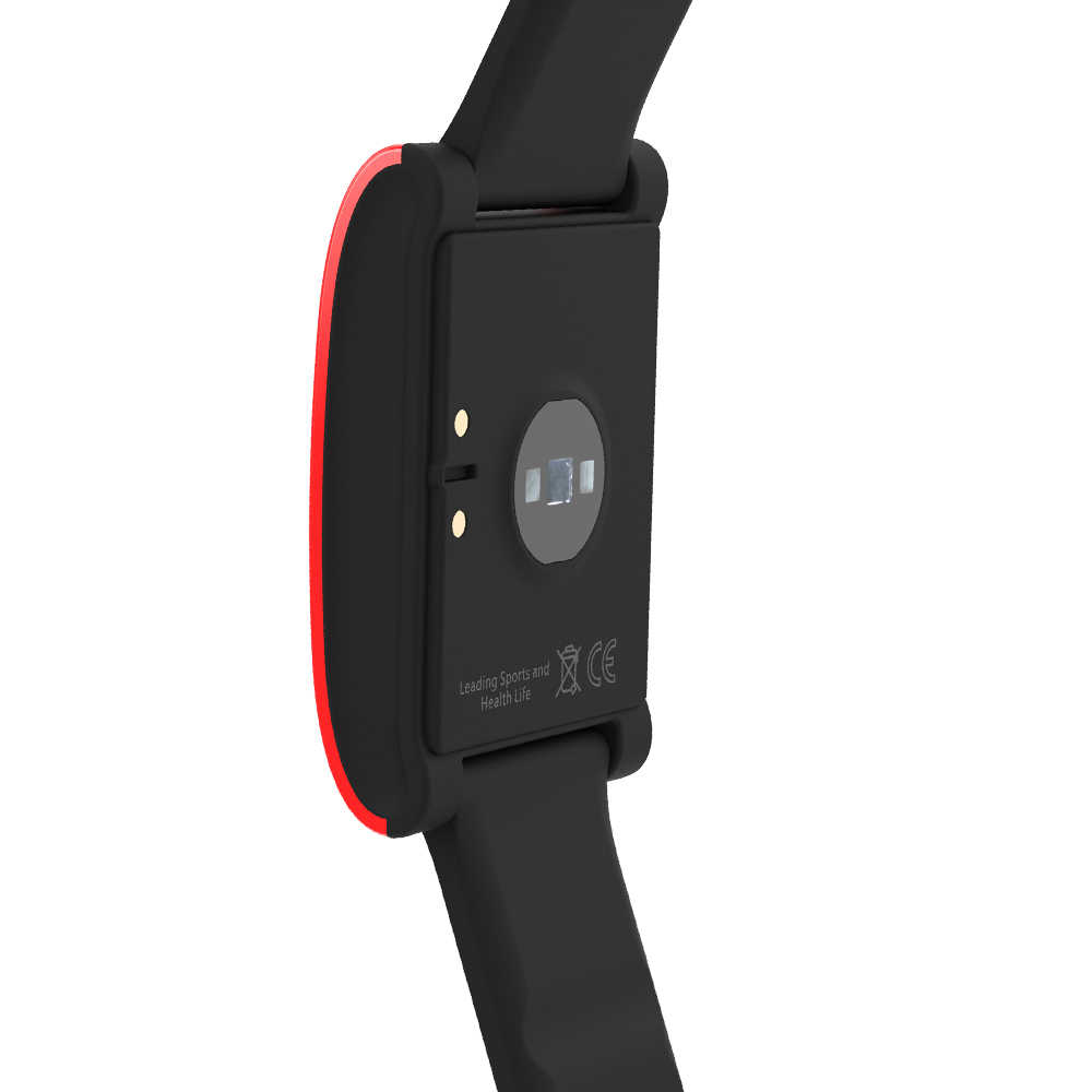 2020 Baru DM68 Smart Band Kebugaran Aktivitas Tracker Cicret Gelang Tekanan Darah Oksigen Denyut Jantung Tracker untuk Android IOS R30