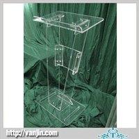 Acrylic lectern free shipping acrylic desk cheap acrylic table,Clear High Gade Acrylic lectern
