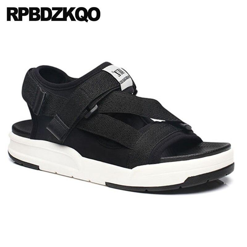 Respirable Negro Impermeable Aire Sandalias Para 2 Agua Black Hombres red 1  Zapatos black Rojo Moda Al Diseñador 2018 Correa Verano Plataforma  Zapatillas ... fcc439627f21