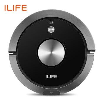 ILIFE A9s робот пылесос и влажная уборка умное приложение пульт дистанционного управления камера навигация плановая очистка большая мусорная ...
