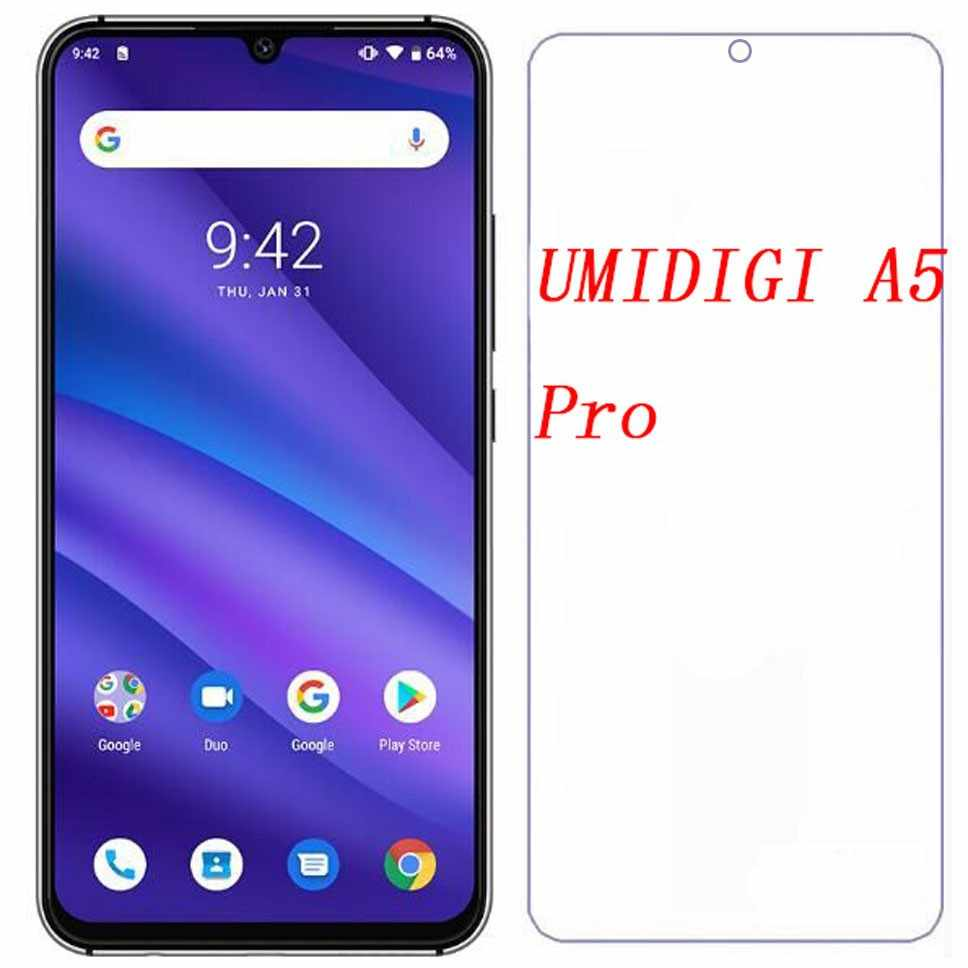 耐衝撃アンチスクラッチフルカバレッジ HD 強化ガラススクリーンプロテクターフィルム Umidigi A5 プロ