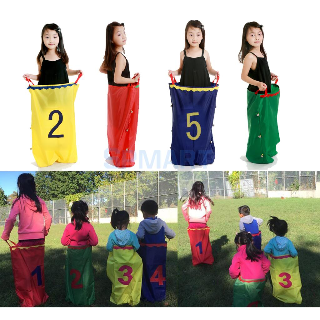 Kids Adult Family Sack Racing Games Jumping Sports Balance Training Toy for Friends Party Garden Outdoor Fun Toy School Activity falling tumbling monkeys fun party games