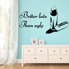 Modern better late than ugly Home Decoration Accessories For Decor Living Room Mural Bedroom