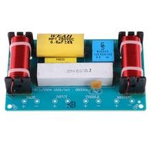 1Pc Speaker 3 Way Audio Frequentie Divider Treble + Midrange + Bass Crossover Luidsprekers Filter Voor 8Inch Speaker diy