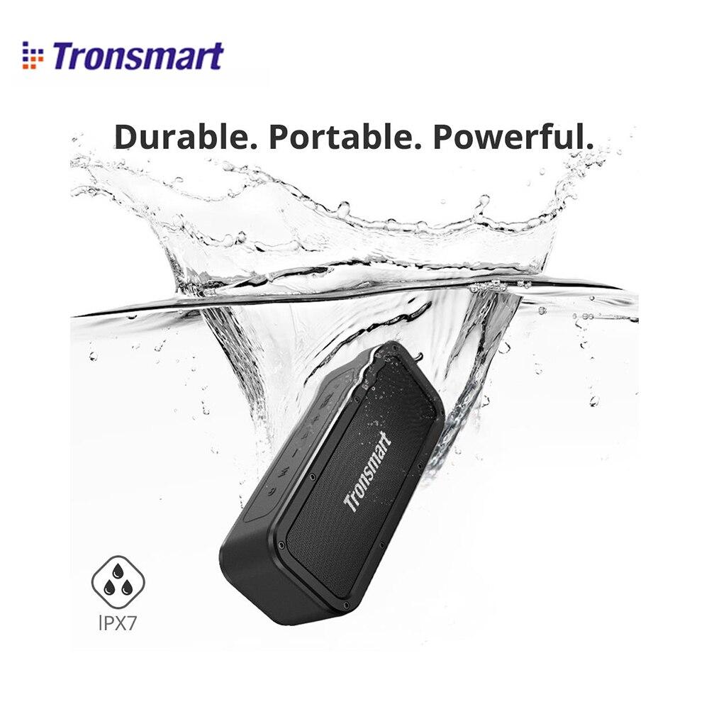 Tronsmart Élément Force SoundPulse 40 W enceintes portables bluetooth avec IPX7 Étanche 15 H Récréation Soutien MicroCD Carte, NFC