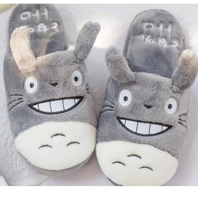 My Neighbor Totoro – Cute Indoor Home Plush Slippers – 3 Styles Available