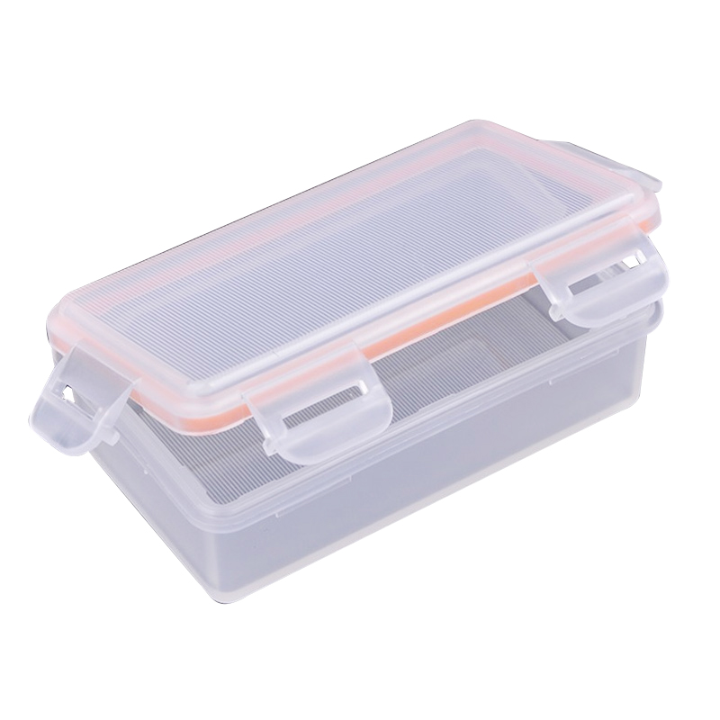 цена Soshine Outdoor Waterproof Battery Storage Box Battery Storage Case for 2 pcs 18650 battery Transparent