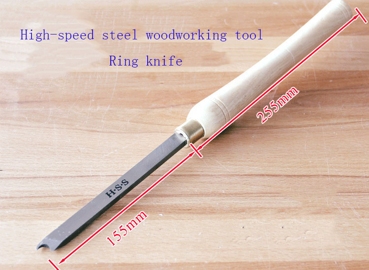 soustruh na dřevo - High speed steel woodworking ring knife,DIY Wood Lathe Turning HSS Woodturning Woodworking tools