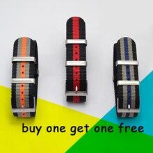 Di modo di Nylon Cinturino Nato Cinturino G10 per Omeg a per IW C Sport Cinturino 007 per Seiko Braccialetto Colorato 19 millimetri 20 millimetri 21 millimetri 22 millimetri