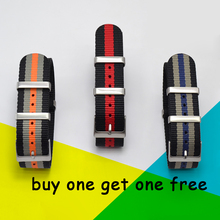 Fashion Nylon Watchband Nato Strap G10 for Omeg a for IW C Sports Watchstrap 007 for Seiko Colorful Bracelet 19mm 20mm 21mm 22mm