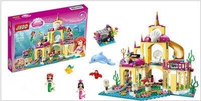 Yamala-Princess-Undersea-Palace-Girl-Friends-Building-Blocks-402pcs-Bricks-Toys-For-Children-Compatible-With-Legoingly-Friends-5