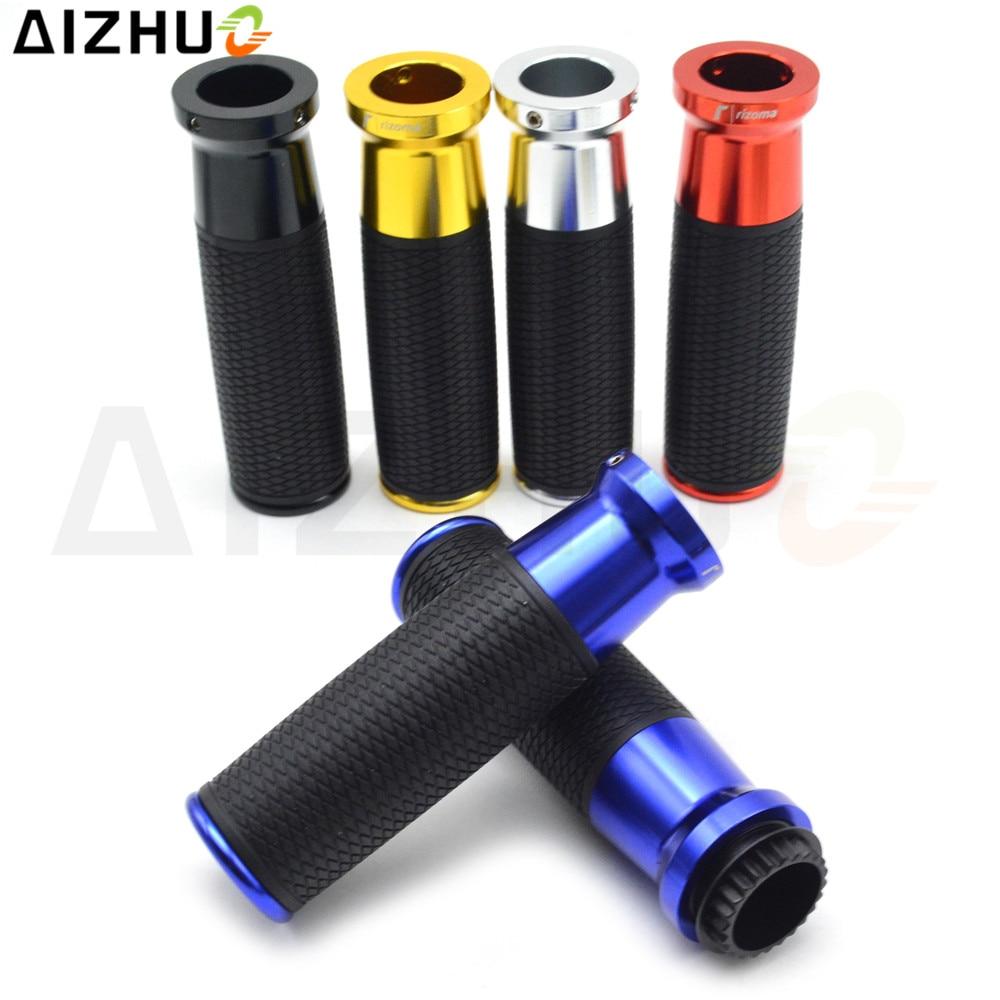 "CNC Aluminum 7/8"" 22mm Motorcycle Handle Grip Handlebar Grips For Yamaha NMAX 125 155 XMAX MT01 03 07 YZF R1 R3 R15 XJR 1300 FZ1"