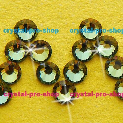 GENUINE Swarovski Elements ss16 ( 288 pieces ) Tabac ( TAB ) Iron on 16ss  Hot fix Flatback Craft Crystal Bead Hotfix rhinestones-in Rhinestones from  Home ... 60470a6d79a7