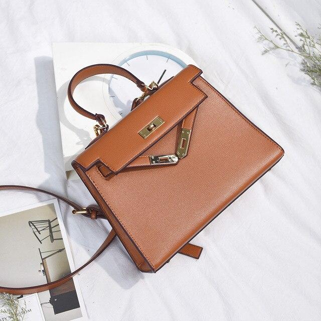 2017 brand women messenger feminina with lock handbag tote ladies baobao crossbody bag small satchel buckle bolso high quality