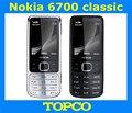 6700c original nokia 6700 teléfono celular desbloqueado 6700 teléfono móvil clásico 3g gsm gps envío libre rápido