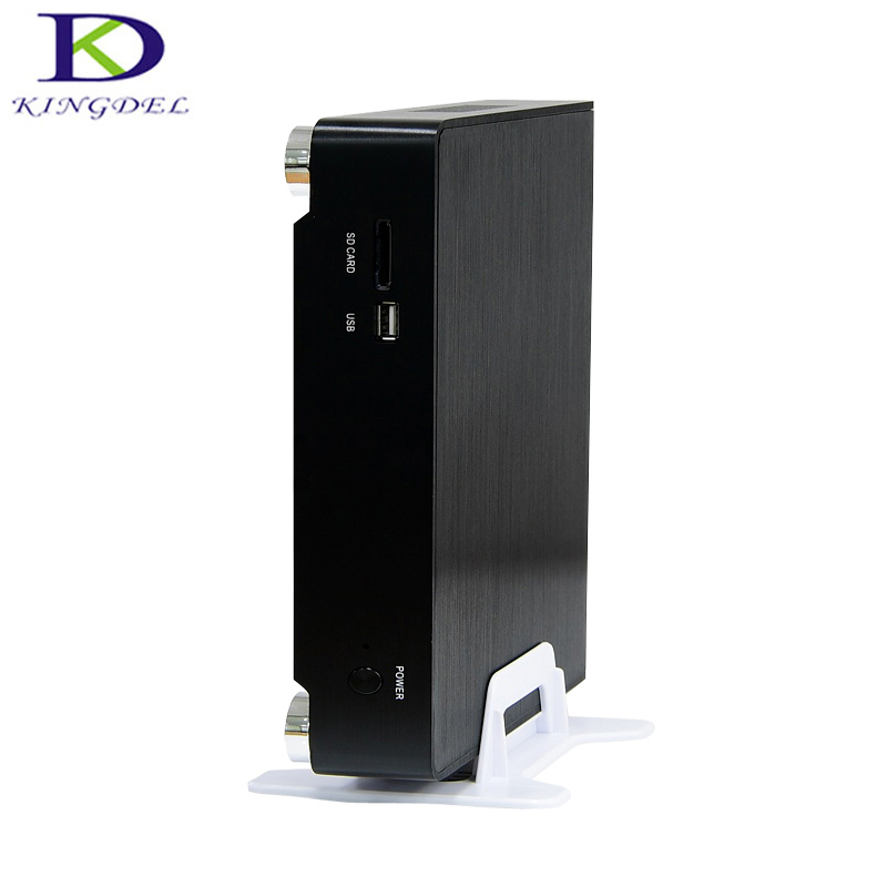 Big Promotion Offical MINI PC I5 4260U I3 5005U Metal Case  Fan Support Win 7/8.1/10/Linux HDMI VGA Desktop Computer TV BOX