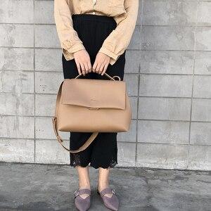 Image 4 - Sacos de totes causais das mulheres bolsas de grande capacidade de ombro do plutônio bolsa mensageiro feminino retro diário totes senhora elegante bolsas