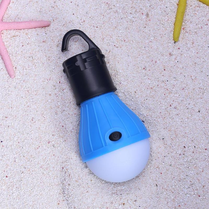 Mini Outdoor 3 LED 800LM Camping Tent Bulb Light Emergency Lamp Lamp Bulb Light Outdoor Camping Tent Accessories (Blue)
