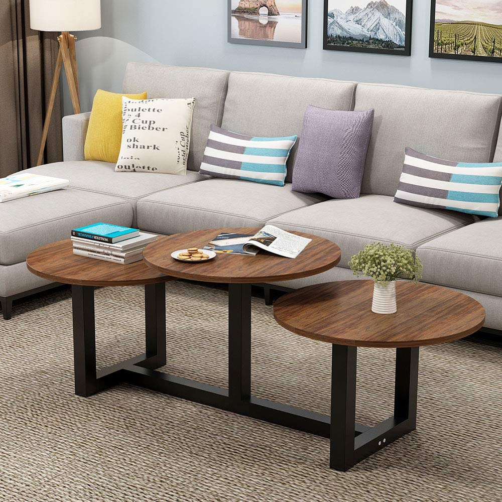 Terrific Big Coffee Table Little Tree 62 Modern Industrial Living Onthecornerstone Fun Painted Chair Ideas Images Onthecornerstoneorg