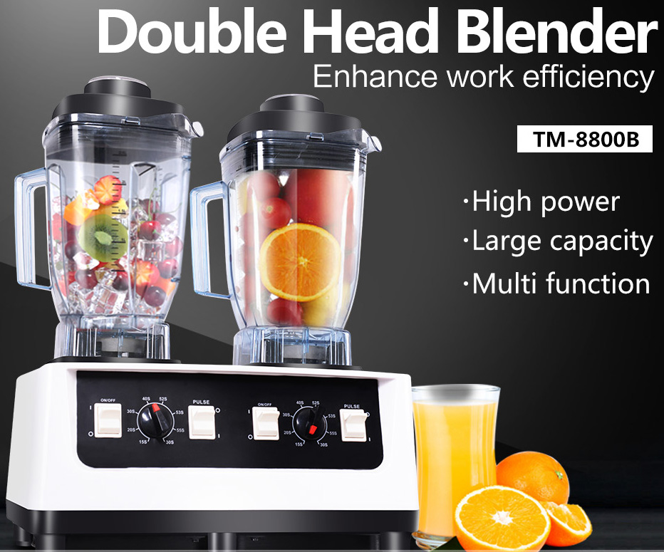 Free shipping 2100w commercial Household machine powerful Commercial Food Processor Industrial blender for ice
