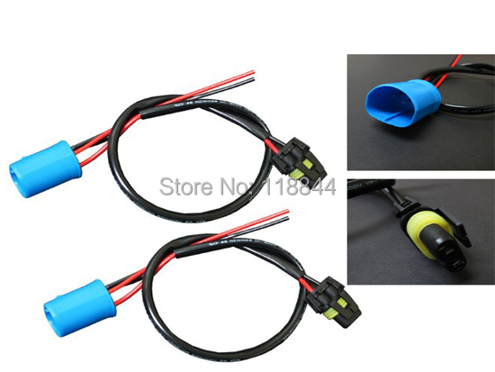 2pcs 35w 55w xenon 9004 9007 wire harness for hid ballast to stock Advance Ballast Wiring Diagram at Hid Ballast To Stock Wiring Harness