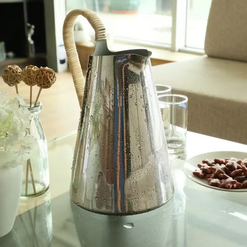18/10 304 stainless steel cold Water kettle cool juice jug bottles teapot 1.8L